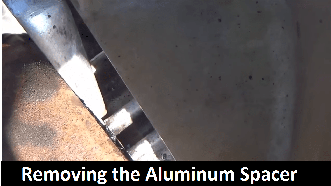 Big Truck Repair Removing the Aluminum Spacer