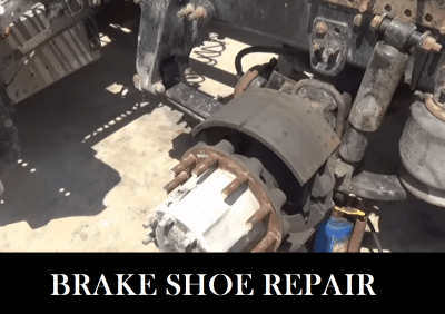 Big Truck Repair - Shoes Replacement