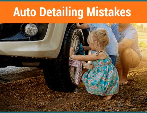 12 Auto Detailing Mistakes to Avoid