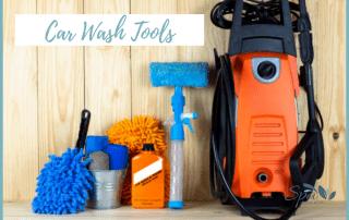 Car wash tools
