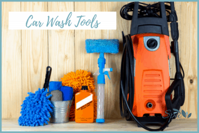 Car wash tools