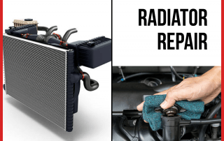 A vehicle radiator