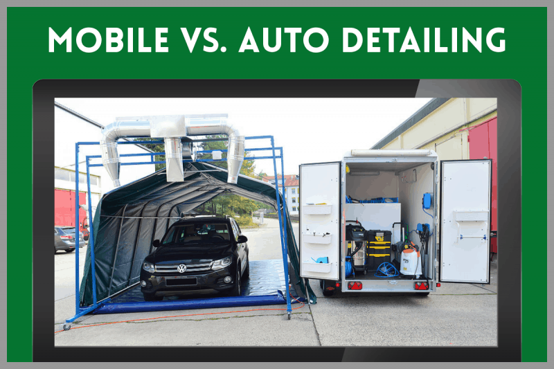 Mobile Detailing vs. Auto Detailing - Which is Best for Your