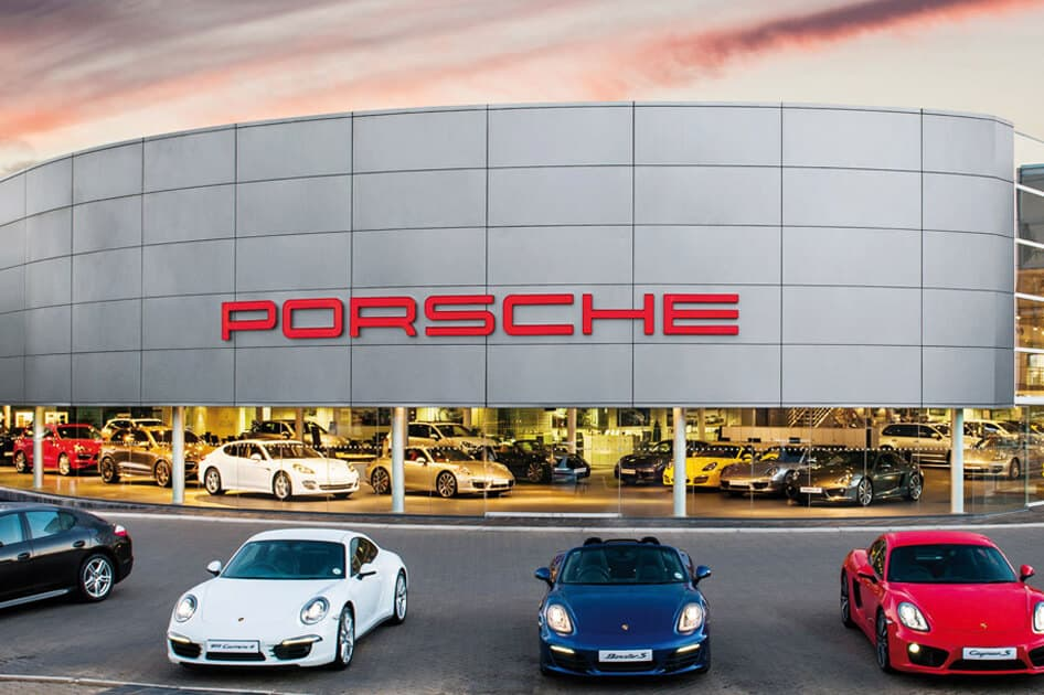 Different types of Porsche sports cars