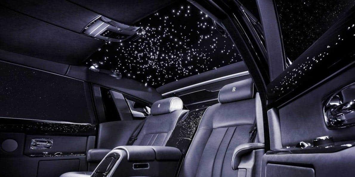 Rolls-Royce starlight vehicle feature