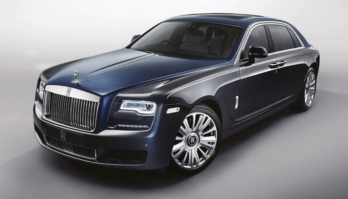 a Rolls-Royce car
