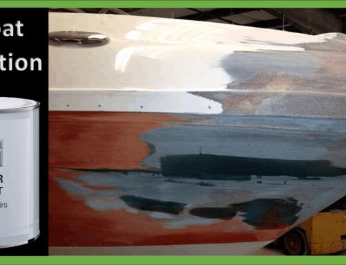 Boat Fiberglass Gelcoat Repair