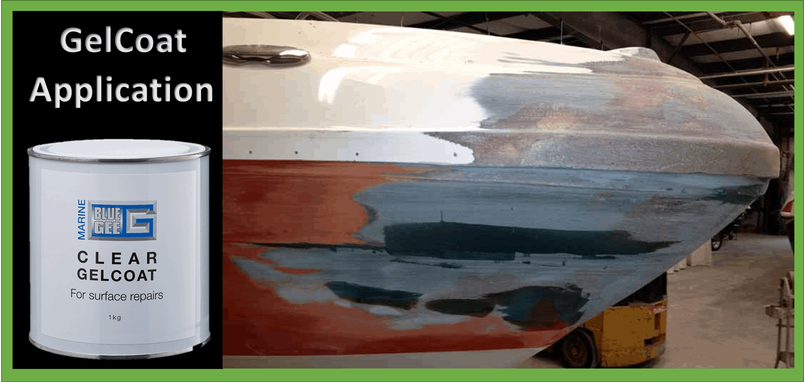 Boat Fiberglass Gelcoat Repair