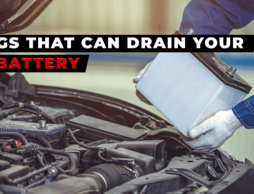 Things That Can Drain Your Car Battery