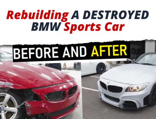 Fixing A Car Z4 BMW That Was Destroyed