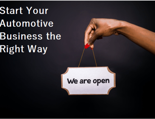 Get Your New Automotive Business Off the Ground